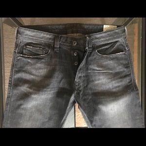 Diesel Safado Denim Jeans 33 Slim Straight New